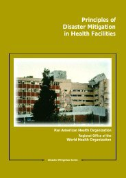 Principles of Disaster Mitigation in Health Facilities - DISASTER info ...