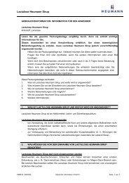 Lactulose Heumann Sirup, Sirup - Heumann Pharma GmbH