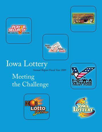 2009 Meeting the Challenge - Iowa Lottery