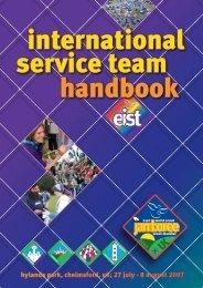 international service team handbook - Scout.at
