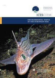 ENVIRONMENTAL STATUS OF THE EUROpEAN SEAS