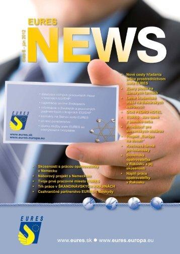 Casopis Eures News SK verzia 2012.indd - Ústredie práce ...