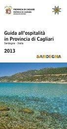 Guida all'ospitalità per il 2013 - Provincia di Cagliari