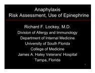Richard F. Lockey - World Allergy Organization