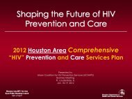 Shaping the Future of HIV Prevention and Care - Urban Coalition for ...
