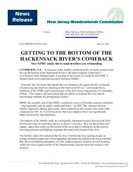 view - New Jersey Meadowlands Commission