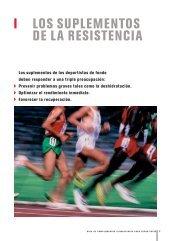 I LOS SUPLEMENTOS DE LA RESISTENCIA