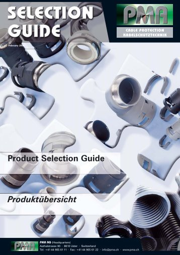 Product Selection Guide Produktübersicht