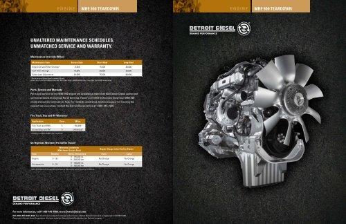 MBE 900 Teardown MTU Detroit Diesel Australia