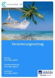 AXA TRAVEL INSURANCE – GERMANYTRAVEL INSURANCE ...