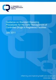 Guidance on Standard Operating Procedures for the Safer ...