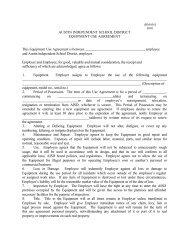 EQUIPMENT USE AGREEMENT 2001