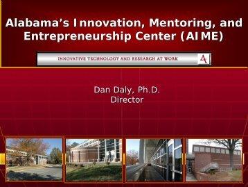 Alabama's Innovation, Mentoring and Entrepreneur Center