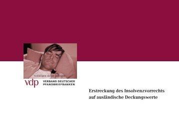 Grenze zum Insolvenzvorrecht für Gläubiger deutscher Pfandbriefe