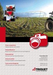 Flyer Fotowettbewerb Trioliet