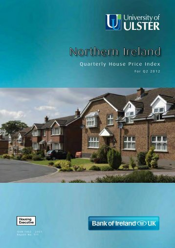 House Price Index for the second quarter of 2012 - Northern Ireland ...