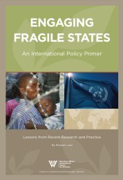 engaging fragile states - Woodrow Wilson International Center for ...