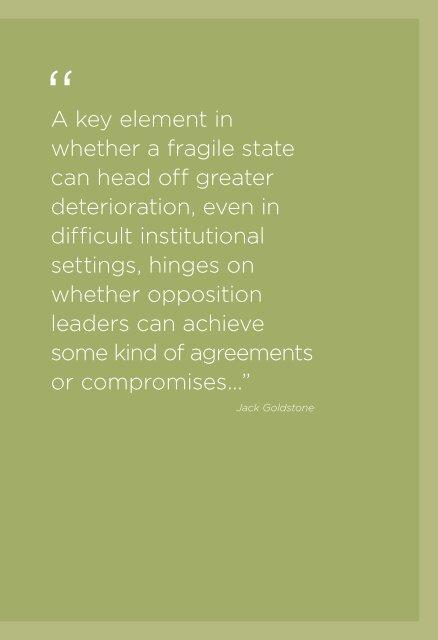 engaging fragile states - Woodrow Wilson International Center for ...