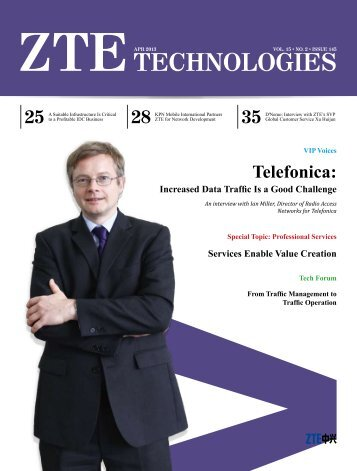 Telefonica: Increased Data Traffic Is a Good Challenge - ZTE