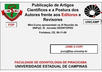 Jaime Publicação - Processo de Revisão SNPqO 2009