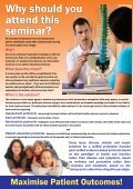 Evidence-Based Practices for Chiropractors Today - Australian ... - Page 2