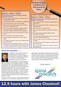 Evidence-Based Practices for Chiropractors Today - Australian ... - Page 4