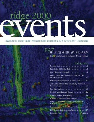 4.1 MB, pdf - Ridge 2000 Program