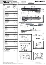 Ersatzteilliste Replacement Parts Pices de Rechange Auflage 02 ...