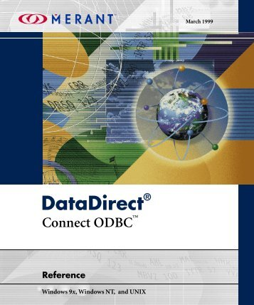 DataDirect Connect ODBC Reference