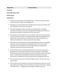 Talking Points Pretoria/Tshwane TITIIC 2012 Wednesday, May 23 ...