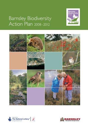 1 BAP Intro 2 AW.fh11 - Barnsley Biodiversity Trust