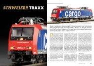 Schweizer TRAXX - Kuehn Digital
