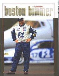 Boston Bimmer - RJ Valentine Racing and Business