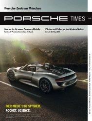 DER NEUE 918 SPYDER. - Porsche