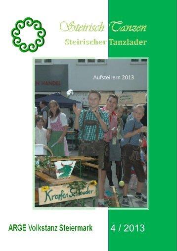 Steirischer Tanzlader-2013-4 - ARGE Volkstanz Steiermark