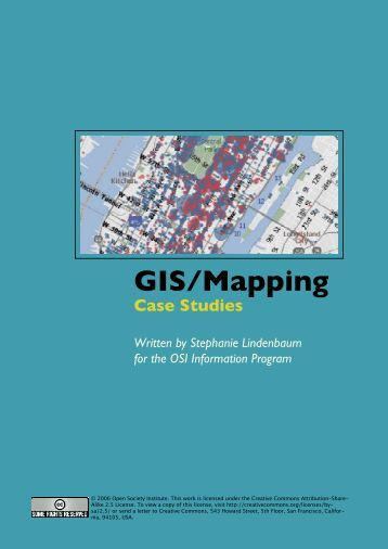 CASE S GEOGRAPHIC INFORMATION S ... - GIS in Transportation