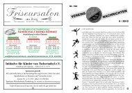 Vereinszeitung Nr. 164 4 / 2012 - TSV-Lütjenwestedt