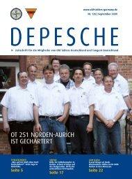 OT 251 NOrDEN-AuriCH iST gECHArTErT - Old-Tablers Deutschland