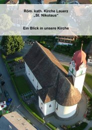 Infobroschüre - Gemeinde Lauerz