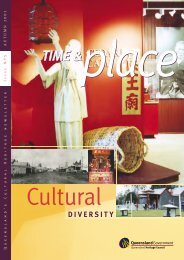 Time and Place Issue 5 Autumn 2003 - Queensland Heritage Council