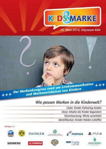Das Programm 2014 (PDF) - Kids & Marke