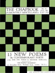 No. 13 (Vol. III) - Modernist Magazines Project