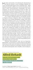Ausstellungsflyer Alfred Ehrhardt - Kallmann-Museum - Seite 2
