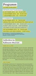 Ausstellungsflyer Alfred Ehrhardt - Kallmann-Museum - Seite 7