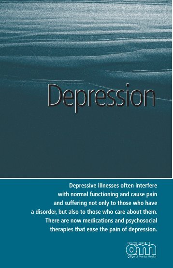 Depression - New York State Office of Mental Health