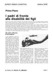 I padri di fronte alla disabilità dei figli - E. Medea