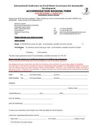 accommodation booking form