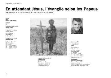 En attendant Jésus, l'évangile selon les Papous (PDF)