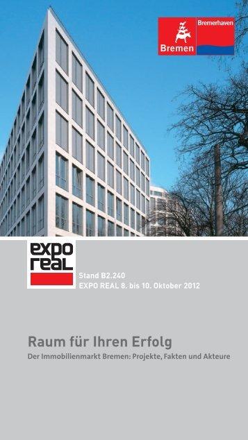 Standbroschüre EXPO REAL 2012 - WFB Wirtschaftsförderung ...