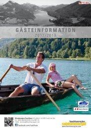 Gästeinformation - am Fuschlsee - Salzkammergut